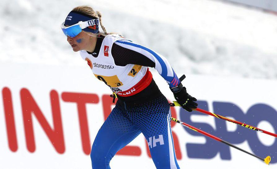 Riitta-Liisa Roponen aikoo jatkaa uraansa.