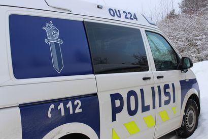 Nuorehkot miehet kaahasivat poliisia pakoon Oulun yössä – lopulta auto hajosi törmäyksessä ja poliisikoira jäljitti miehet maastosta