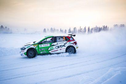 Kalle Rovanperä ja Valtteri Bottas kuumimmat nimet Arctic Lapland Rallyssa