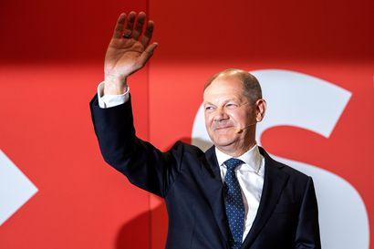 Sosiaalidemokraatit voittoon Saksan parlamenttivaaleissa – kristillisdemokraatit kärsivät murskatappion