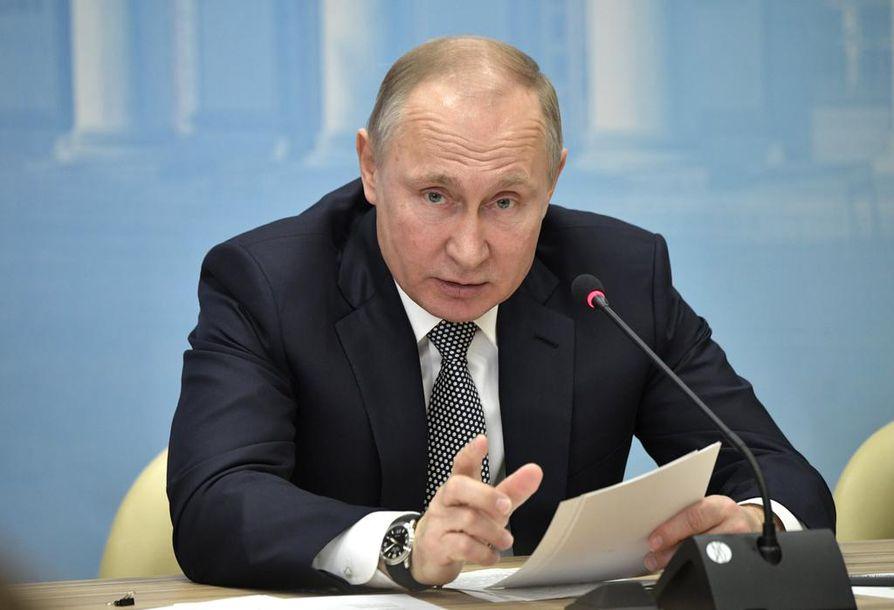 Asiantuntijan mukaan Sotshin olympialaiset järjestettiin Vladimir Putinin suojeluksessa.