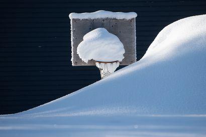 Kevät eteni hitaasti huhtikuussa –Koillismaalla lunta oli harvinaisen paljon