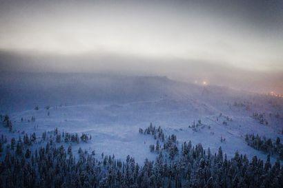 Luostotunturilla on tapahtunut lumivyöry rinnealueen läheisyydessä – etsinnät lopetettu, ketään ei löydetty vyöryalueelta