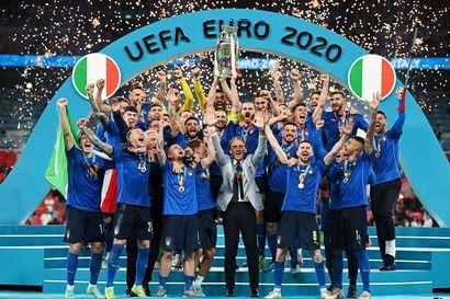 Italialaiset miehittivät EM-turnauksen tähdistökentällisen, maalipörssin kärkikaksikkoa ei noteerattu