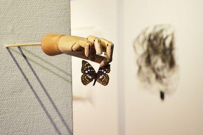 Kuvataidearvostelu: Näkemisestä ja sokeudesta – minimalismi ja dadaismi kohtaavat Galleria Napassa ja Studio Mustanapassa.