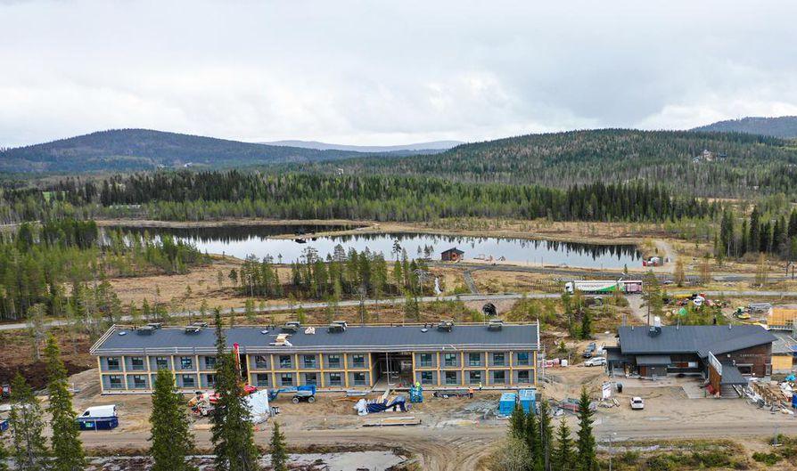 Kide-hotelli avaa ovensa Iso-Syötteellä marraskuussa 2019. Ympäristöystävällisyyteen pyrkivään hotelliin tulee 60 huonetta.
