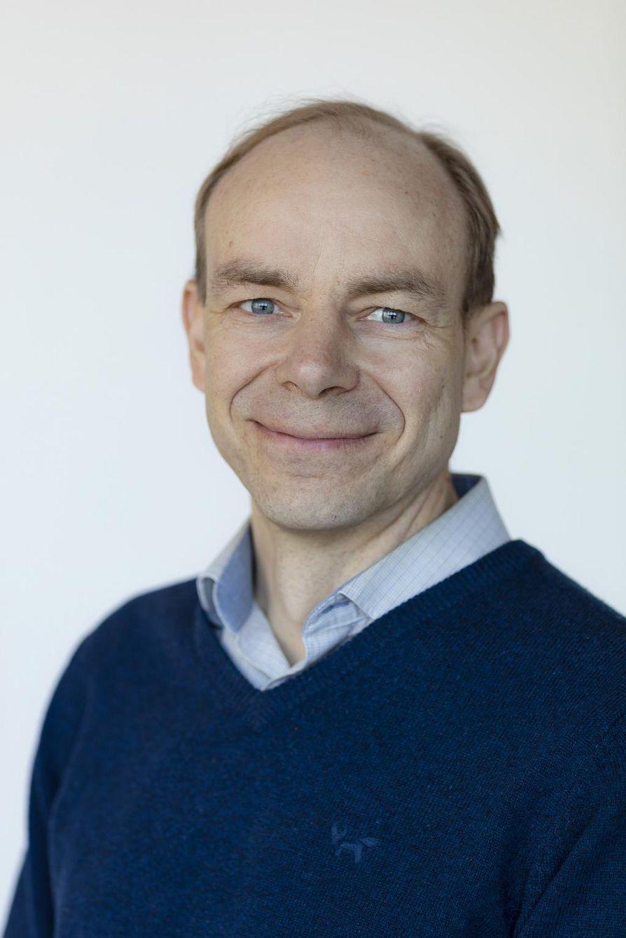 Mikko Pihlatie on tutkimustiimin päällikkö VTT:ssä.