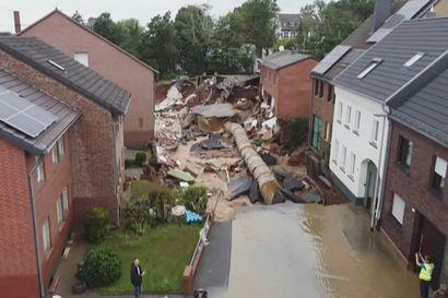 Euroopan tulvissa on kuollut jo yli 150 ihmistä – tältä karmeat tuhot näyttävät