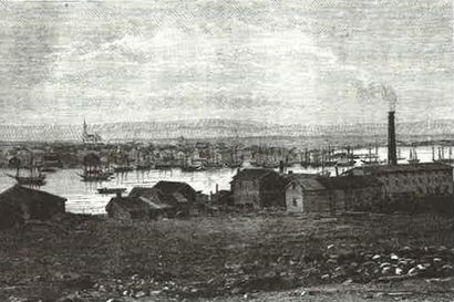 Haave suomalaisesta Jäämerestä 1884