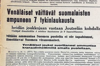 Vuosien takaa: Mainilan laukauksista 80 vuotta