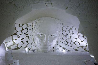 Viraalissa lumihotellissa saa yöpyä vain yhden yön –Lainion SnowVillage luopui hittisarjasta ja haastaa uudella näyttelyllä ihmismieltä