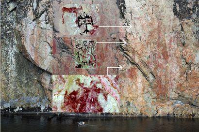Hossan värikallioista paljastui ennen näkemättömiä maalauksia ja tarinanomaisia kokonaisuuksia – iisalmelaislääkäri on löytänyt yhteensä noin 150 piirrosta