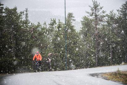 Pohjois-Lappiin voi loppuviikosta sataa jopa yli 30 sentin lumipeite, Koillismaalle ennustetaan viiden sentin lumikerrosta