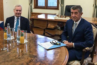 Pääministeri Rinne keskusteli ilmastoasioista Tshekin pääministerin Andrej Babishin kanssa