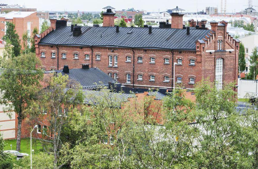 Oulun vankila. Arkistokuva.