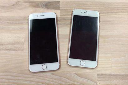 Tunnistatko kumpi iPhoneista on väärennetty?