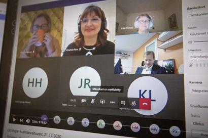 """Limingan vs. hallintojohtaja Sanna Ylinampa: """"Koska kutsussa ilmoitettiin, että kokousta voi seurata myös YouTuben kautta, niin laillisuuden varmistamiseksi kokous oli järkevää perua"""""""