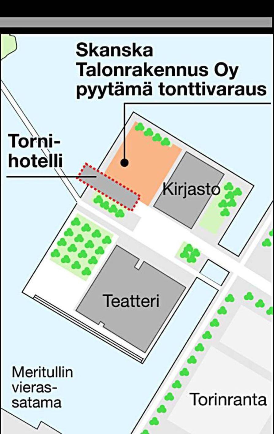 Kaupunginhallitus varasi Hiltonille tontin Vänmanninsaaresta.