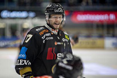 Kärppien Mika Pyörälä valittiin Liigan syyskuun parhaaksi pelaajaksi
