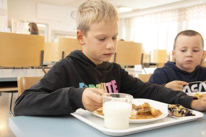 Gumeruksen koulu oli mukana lähiruokapäivässä