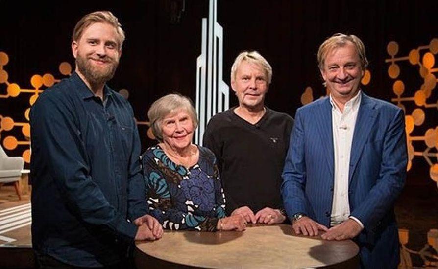 Matti Nykänen ja hänen äitinsä Vieno Nykänen olivat yhteishaastattelussa Harkimot-ohjelmassa vuonna 2017. Ohjelma esitetään TV5:llä maanantaina kello 20.