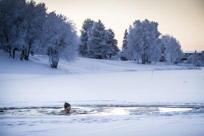 Uskallatko avantoon? Rakastu talviuintiin -tapahtuma tarjoaa raikkaan pulahduksen Kemijokeen