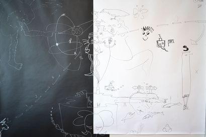 Arvostelu: Näyttely jossa saa piirtää