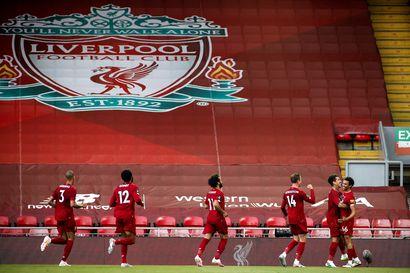 Murskavoitto Crystal Palacesta auttoi Liverpoolin askeleen lähemmäs liigamestaruutta