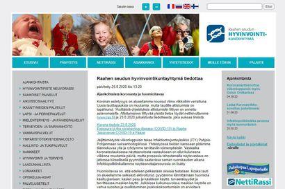 Raahen seudun hyvinvointikuntayhtymän verkkosivut uudistuvat torstaina