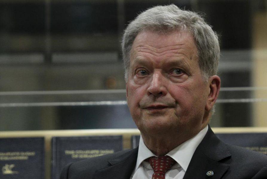 Sauli Niinistö on tyytyväinen Arktisen neuvoston toimintaan.
