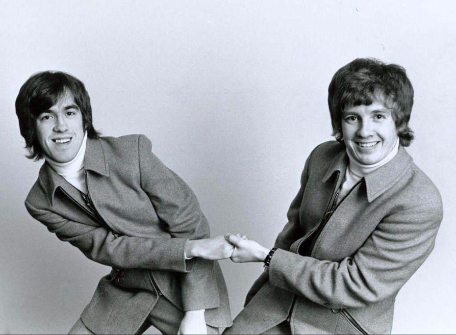 Matin ja Tepon ura iskelmämuusikoina alkoi 1960-70-lukujen taitteessa.