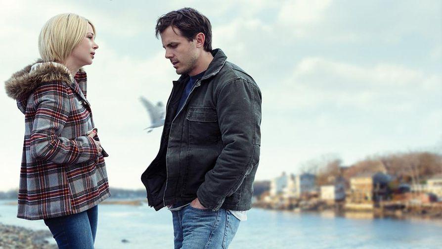 Manchester By The Sean tähtiä ovat Michelle Williams ja Casey Affleck.
