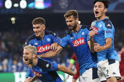 """Liverpoolille tyly alku mestaruuden puolustukseen: """"Napoli voi voittaa tämän kilpailun"""""""