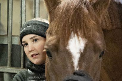 """Laura Kangasniemi halvaantui oikealta puolelta ja sai aivovamman, mutta palasi ratsastamaan hämmästyttävän nopeasti – """"Pidän heitä supersankareina, ilman heitä olisin varmaan kuollut sinne maneesin pohjalle"""""""