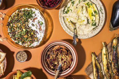 Joko tunnet muhammaran, hummuksen ja labnehin? Lähi-idän lempeän mausteiset maut ovat ruokavuoden 2020 löytö