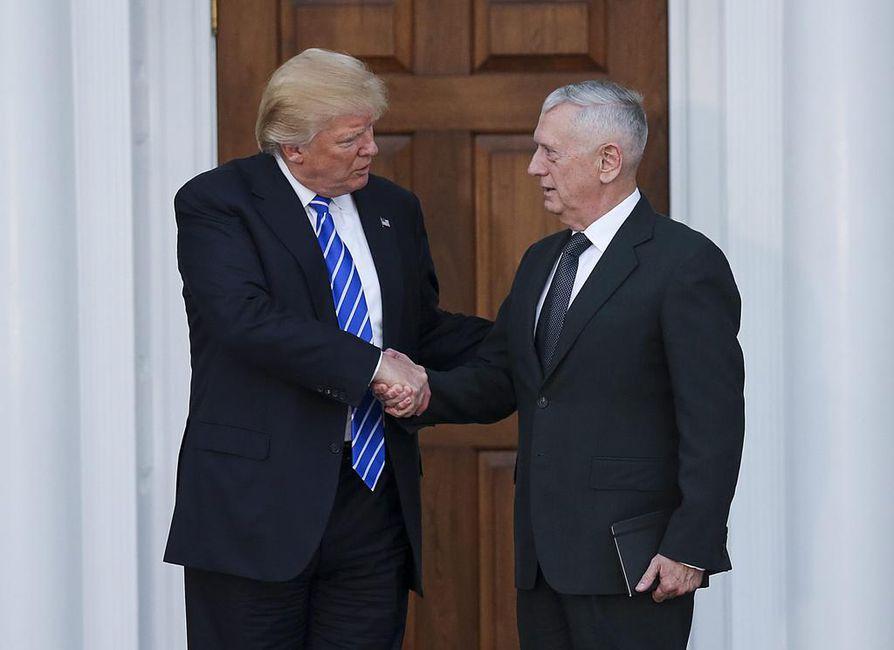 Donald Trump on valinnut puolustusministeriksi James Mattisin.