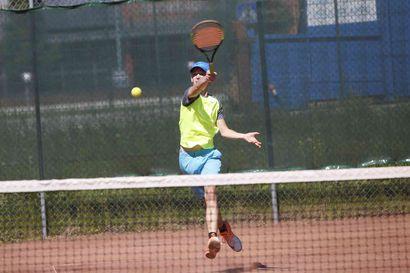 Kekkonen Head Open Raahessa: Lupaavia nuoria pelaajia