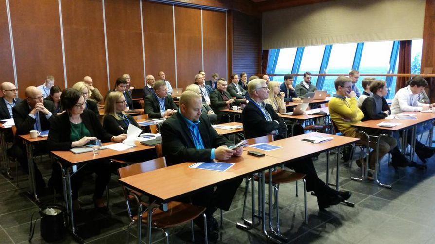 Ruka Yrittäjäareenassa puhutti muun muassa tulevaisuuden yrittäminen ja työnteko.
