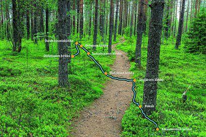 Ensimmäinen pyhiinvaellusreitti tulossa Pohjois-Pohjanmaalle – Pyhän Olavin reitti kulkee Oulujokivartta