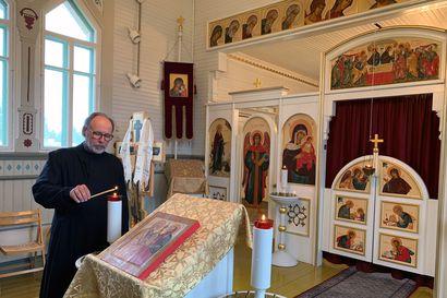 Tornion ortodoksikirkko pesi kasvonsa – Venäjän ajasta muistuttavan kirkon muistoa vaalii ja ylläpitää aktiivinen seurakunta