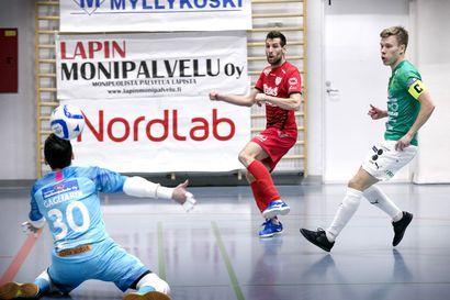 ToPV:n Iiro Vanha jälleen kuukauden pelaaja Futsal-liigassa
