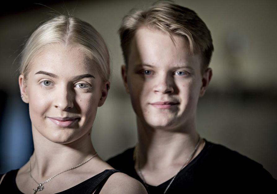 Eetu Lämsä ja Emilia Prykäri ovat tanssineet yhdessä kuusi vuotta. Tanssin suhteen heillä on samanlaiset arvot ja tavoitteet.