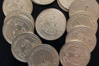 Lempi-kolikko kunnioittaa sarjakuva-keskuksen ja jalokivigallerian historiaa