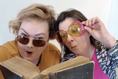 Podcast: Happi & Saima usuttavat lukemaan kirjoja