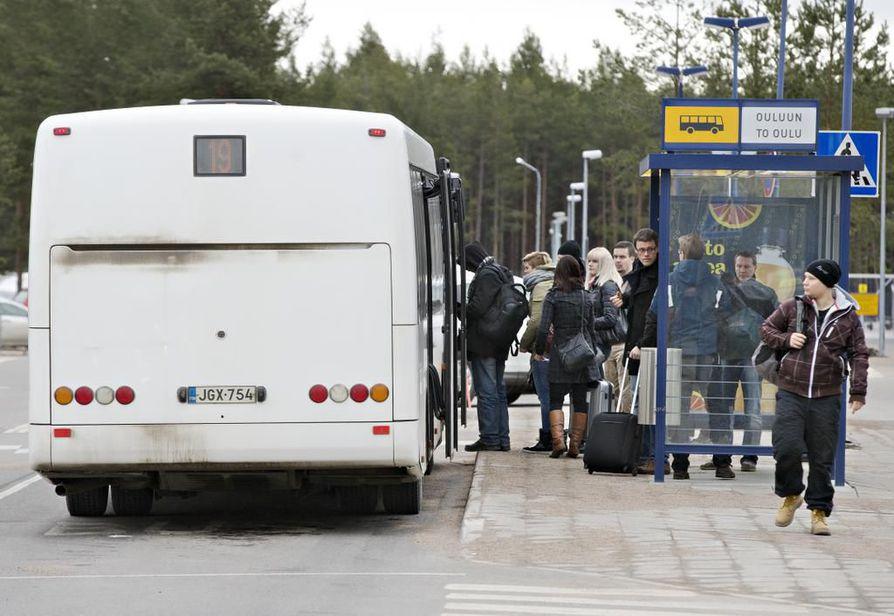 Kesäaikataulut astuivat voimaan Oulun joukkoliikenteessä tämän viikon maanantaina. Arkistokuva.