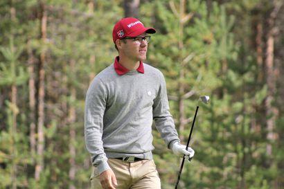 """OGK:n Juhana Kukkonen huippuvireessä golfin reikäpelin SM-kisoissa: """"Jos oli birdiepaikka, sen myös tein"""""""