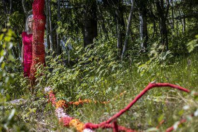 Oulun Pikisaaresta löytyy koko kesän ajan taidetta ihan ilmaiseksi