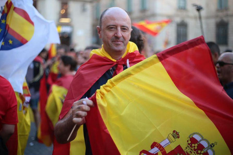 Jose Luis Garcia kannattaa Espanjan yhtenäisyyttä.