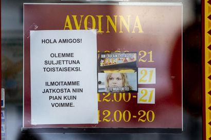 Ravintolasulku lisäsi lomautettujen määrää myös Raahen alueella — Viime kevään lukemat ovat vielä kaukana