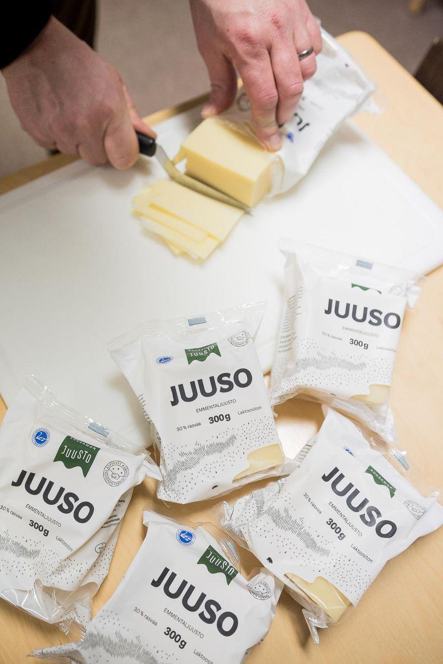 Kuusamon juustolla Kuusamossa tehtaanmyymälä Paimenpoika.